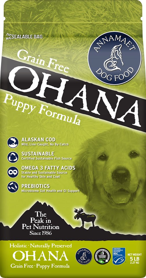 Annamaet Ohana Puppy Formula Dry Dog Food