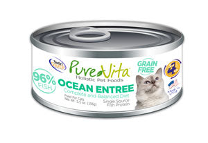 PureVita Grain Free Ocean Entree Canned Cat Food
