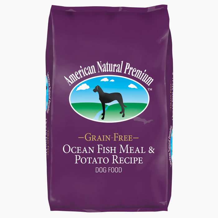 American Natural Premium Grain Free Ocean Fish and Potato Recipe Dog Food
