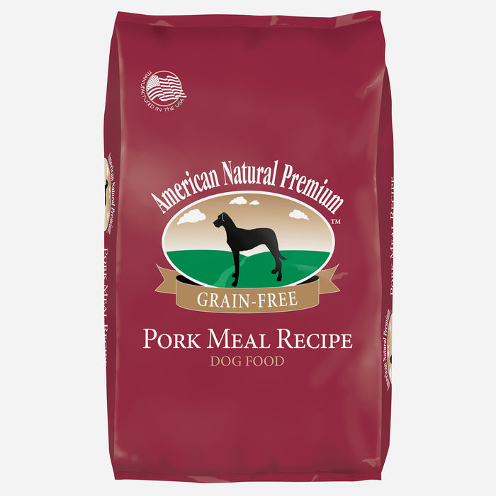 American Natural Premium Grain Free Pork Recipe Dog Food