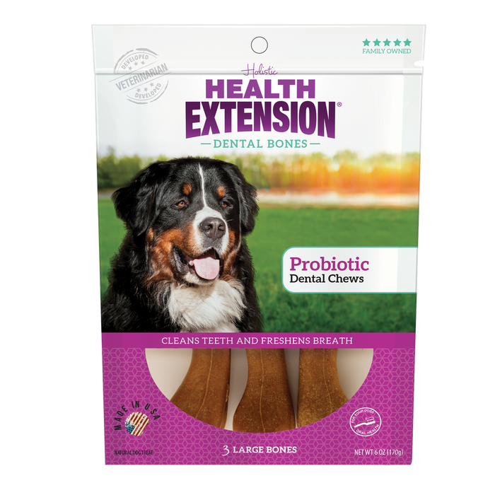Health Extension Probiotic Dental Bones