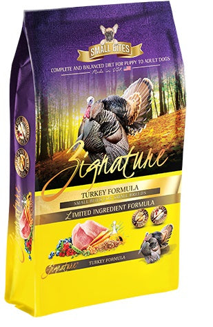 Zignature Turkey Little Bites Formula