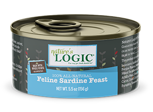 Nature's Logic Sardine Feast Canned Food for Cats