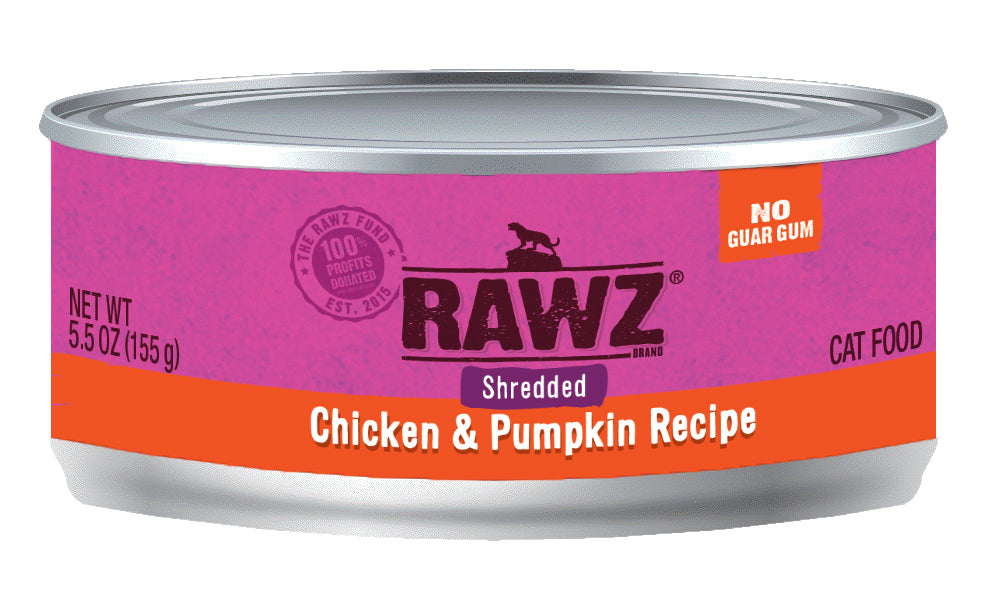 RAWZ Shredded Chicken & Pumpkin Cat Food