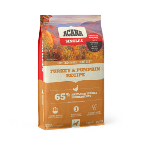 ACANA Singles Turkey and Pumpkin Dry Dog Food