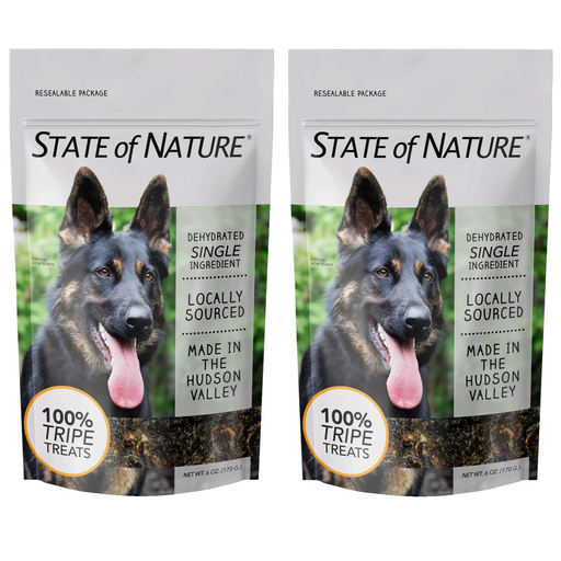 State of Nature Single Ingredient Dehydrated Tripe Treats
