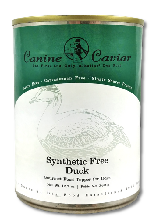 Canine Caviar Synthetic Free Gourmet Duck Canned Food