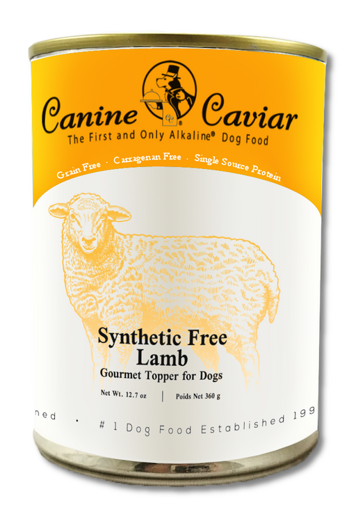 Canine Caviar Synthetic Free Gourmet Lamb Canned Food