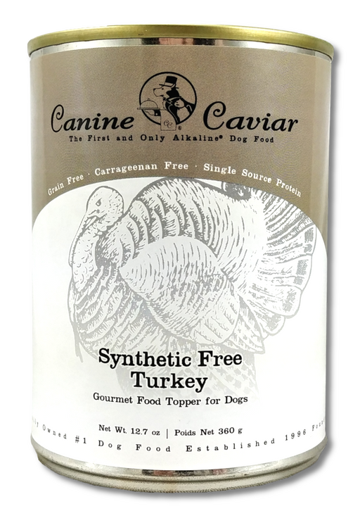 Canine Caviar Synthetic Free Gourmet Turkey Canned Food