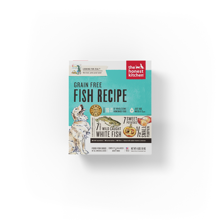 The Honest Kitchen Dehydrated Grain Free Fish