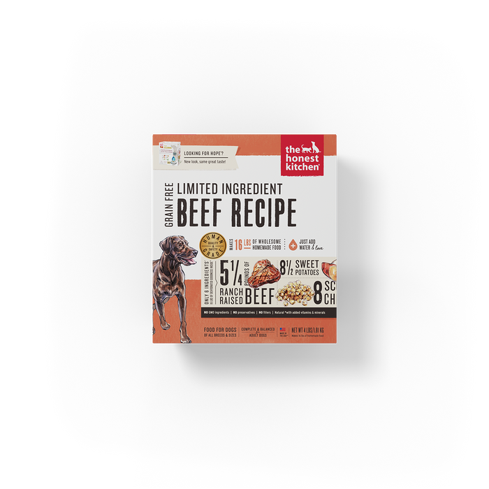 The Honest Kitchen Dehydrated Limited Ingredient Beef