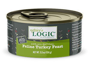 Nature's Logic Turkey Feast Canned Food for Cats