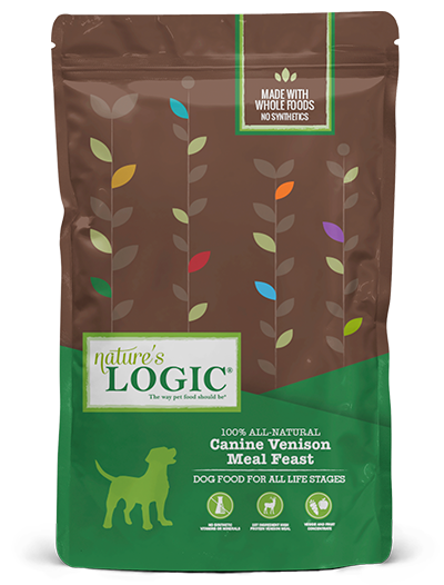 Nature's Logic Venison Meal Feast Dry Food for Dogs
