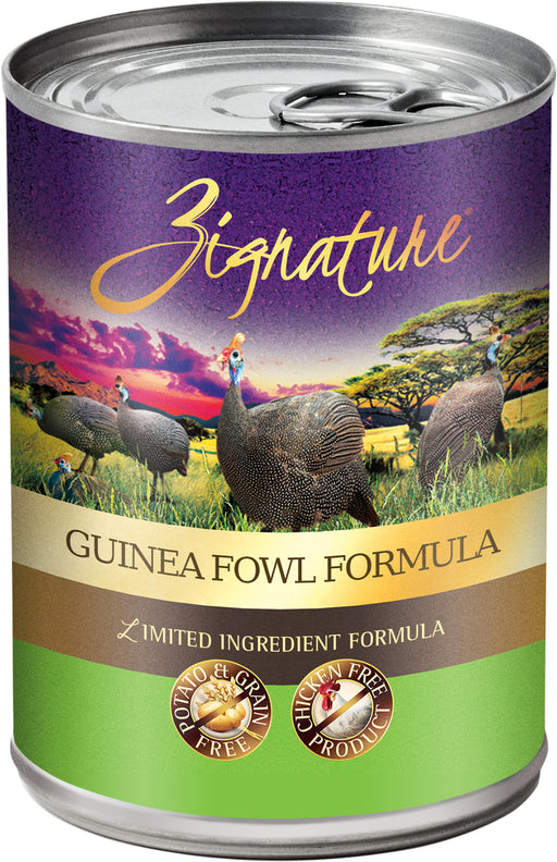 Zignature Guineafowl Canned Dog Food Formula