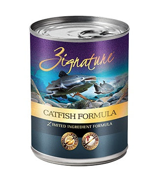 Zignature Catfish Canned Dog Food Formula