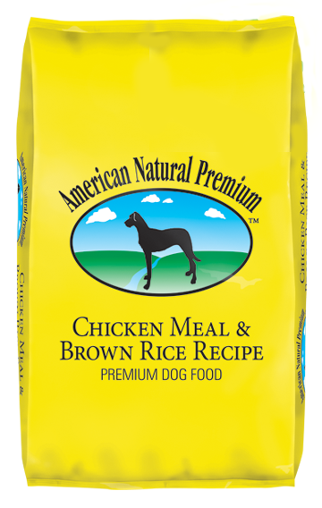 American Natural Premium Chicken Meal & Brown Rice Adult Dog Food