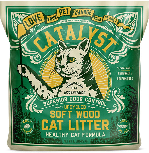 Catalyst Pet Soft Wood Cat Litter Healthy Cat Formula