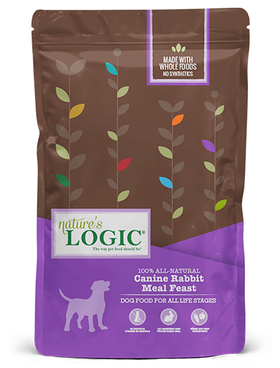 Nature's Logic Rabbit Meal Feast Dry Food for Dogs