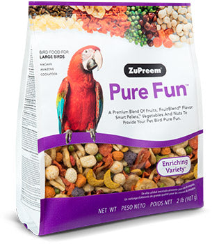 ZuPreem Pure Fun L Bird Food