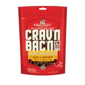 Stella & Chewy's Crav'n Bac'n Bacon & Chicken Recipe Dog Treats