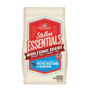 Stella & Chewy's Essentials Wild-Caught Whitefish, Ancient Grains & Salmon Recipe Dog Kibble