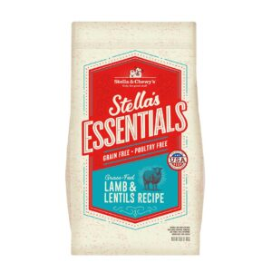 Stella & Chewy's Essentials Grass-Fed Lamb & Lentils Recipe Dog Kibble
