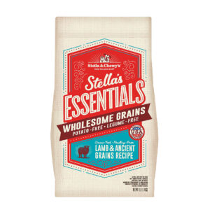 Stella & Chewy's Essentials Grass-Fed Lamb & Ancient Grains Recipe Dog Kibble