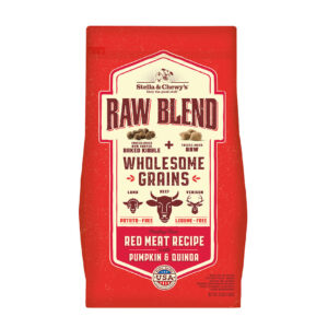 Stella & Chewy's Raw Blend Red Meat Recipe with Wholesome Grains Dog Kibble