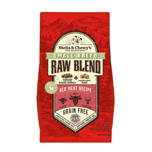 Stella & Chewy's Raw Blend Small Breed Red Meat Recipe Dog Kibble