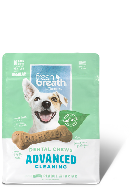 Tropiclean Advanced Cleaning System Dog Chews