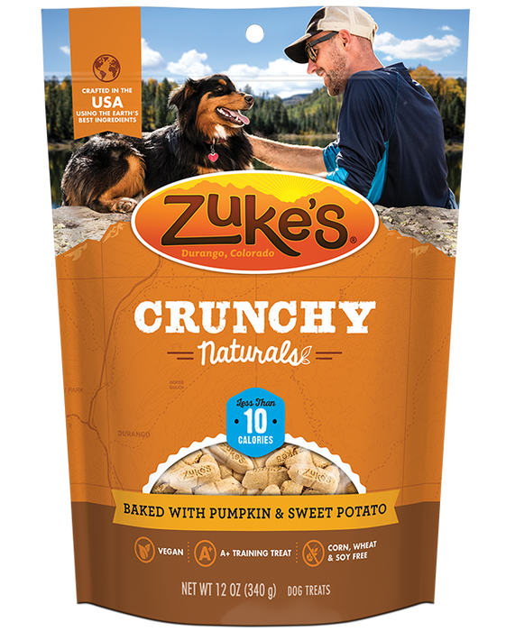 Zuke's Crunchy Naturals 10s Baked with Pumpkin & Sweet Potato