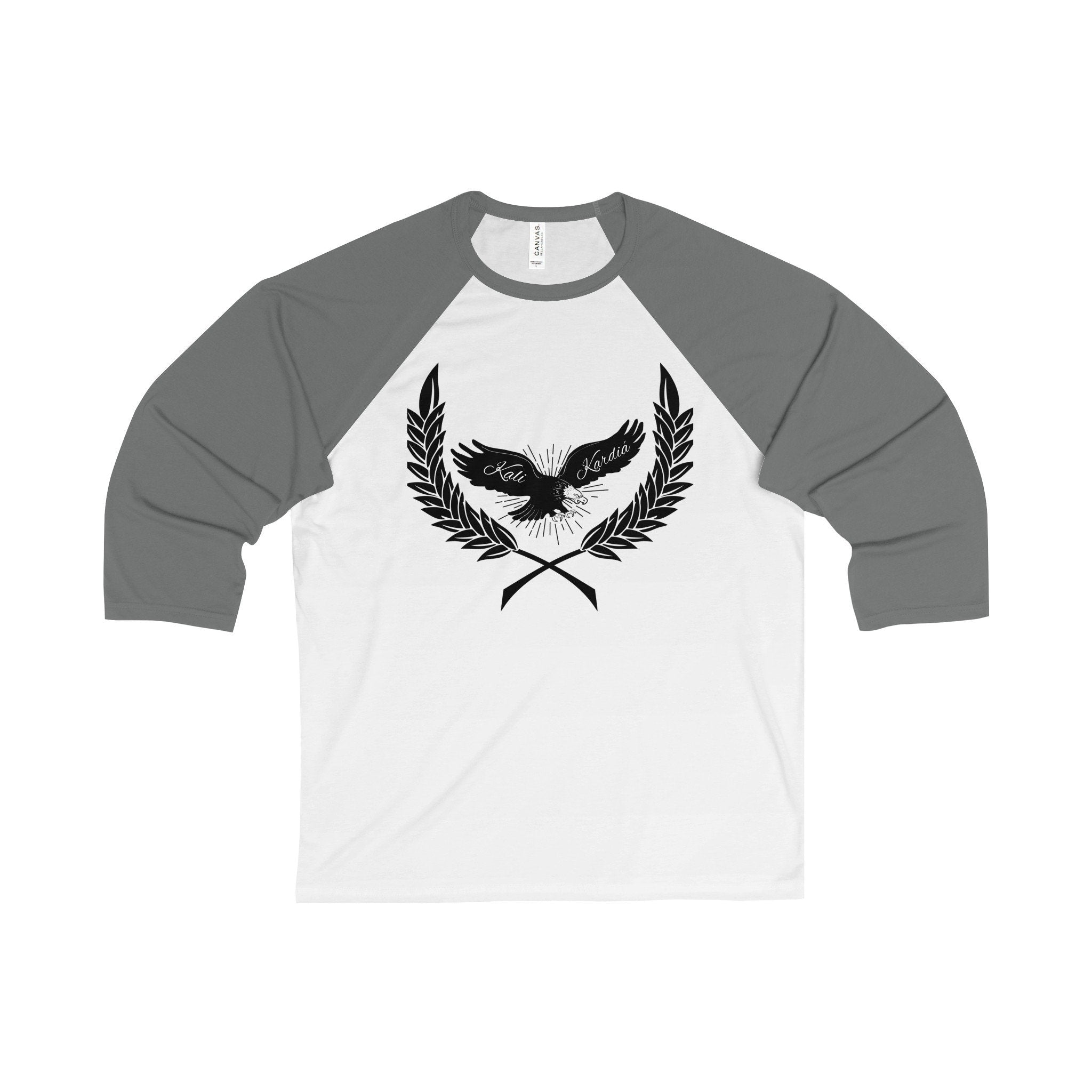 Eagles Fly Alone 3/4 Sleeve Baseball Tee