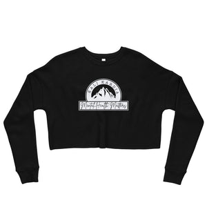 Mental Health Matters Crop Sweatshirt