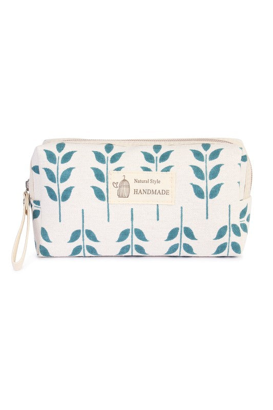 SWEET LEAF COSMETIC BAG