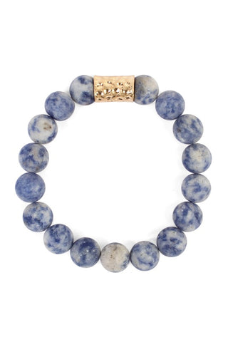 ARLO STONE BRACELET in BLUE