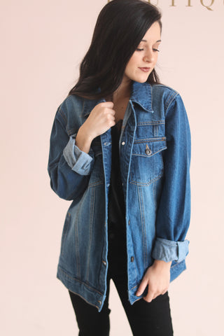 BLUE BELLE DENIM JACKET