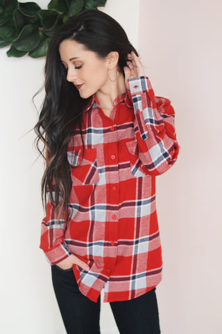 OTTO FLANNEL BUTTON DOWN