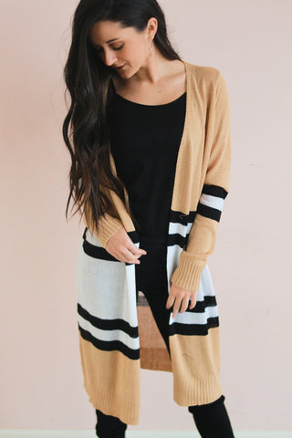 Niko Block Cardigan