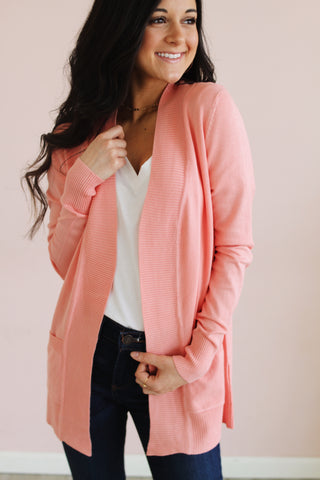 PEACHY KEEN ESSENTIAL CARDIGAN