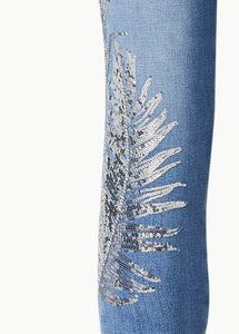 CRYSTAL PALM JEANS