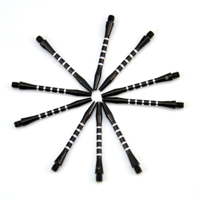 10 Pcs/lot Aluminum Medium Darts Shafts Harrows Dart Stems Throwing Toy, 6 Colors Free Shipping