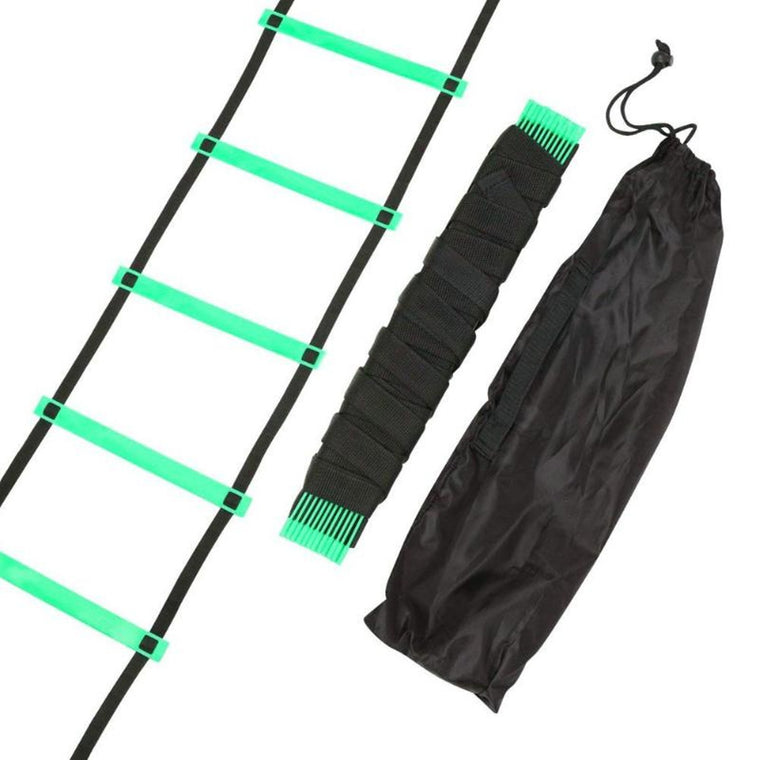 11/12 Rung 18 Feet 6m Agility Ladder for Soccer Speed Training Durable Outdoor Fitness Equipment Agility Ladder