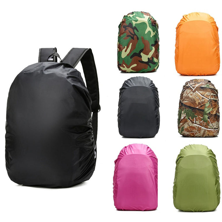 1pcs Nylon Army Green Camouflage RainCover 35-45L Lightweight Waterproof Backpack Bag Rain Cover For Travel Bag
