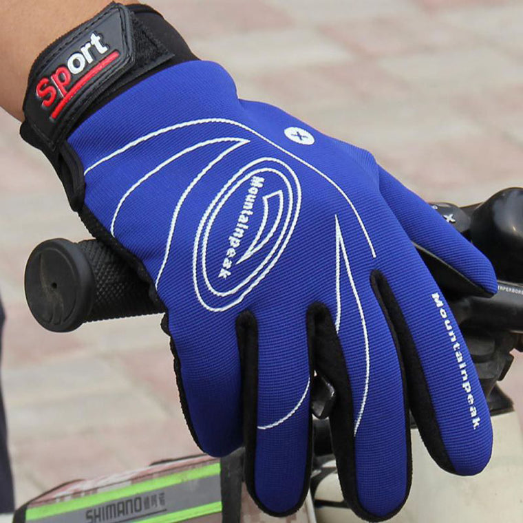 Sports windproof touch screen glove Autumn Winter Warm Cycling Gloves Men Women Leather Gloves high quality
