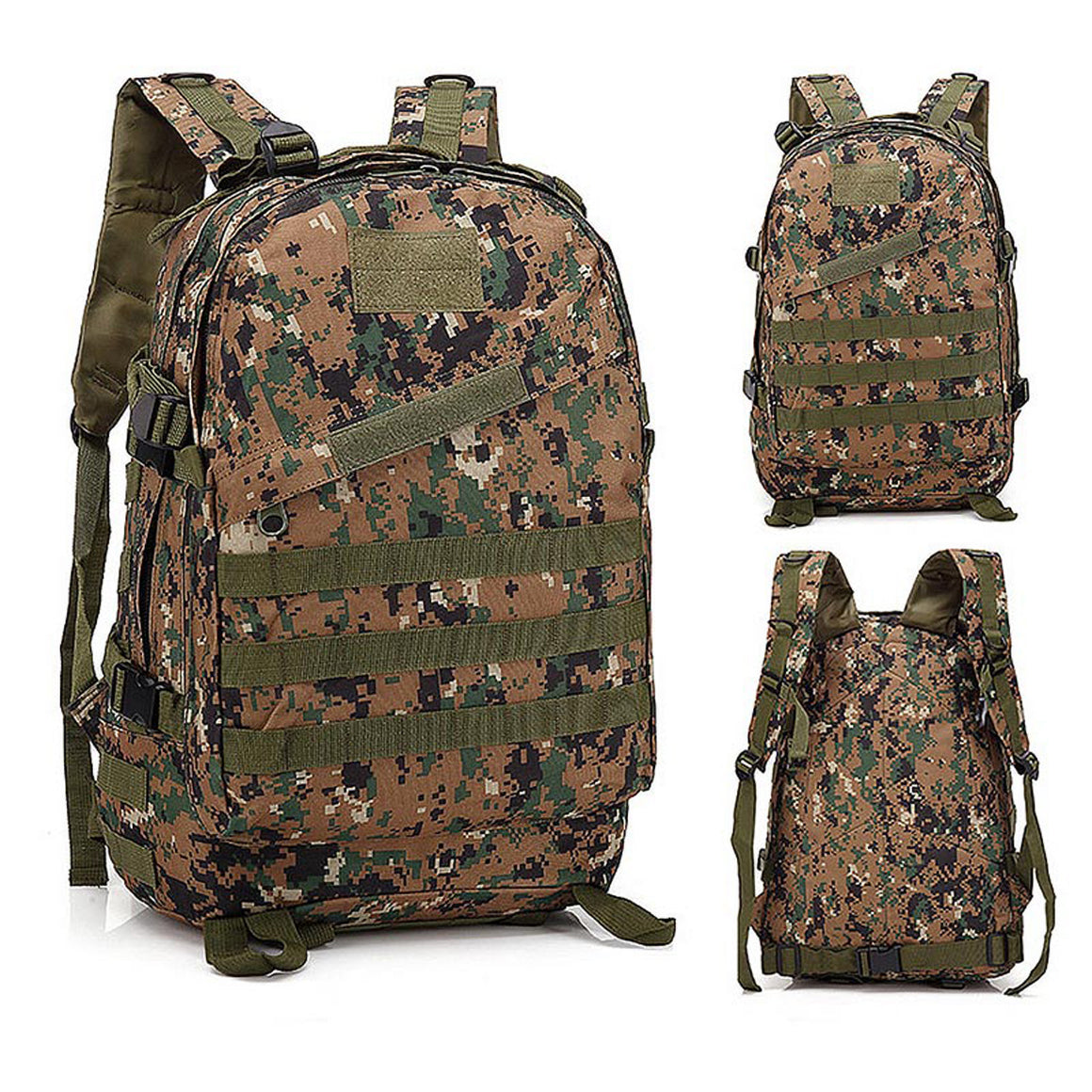 40L Rucksack Tactical Backpack Military Backpack Tactical Bag Army Travel Outdoor Sports Bag Waterproof Hiking Hunting Camping