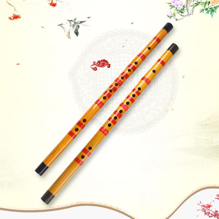 47cm Bamboo Universal Flute Musical Instrument Beginner Practice Traditional Professional Amateurs Woodwind Instruments