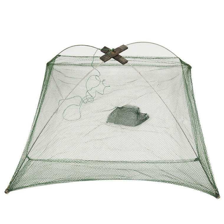 60x60cm 80x80cm 100x100cm Square Fishing Landing Net Trap Network for Catching Shrimp Crab Small Fishes Fishing Tool