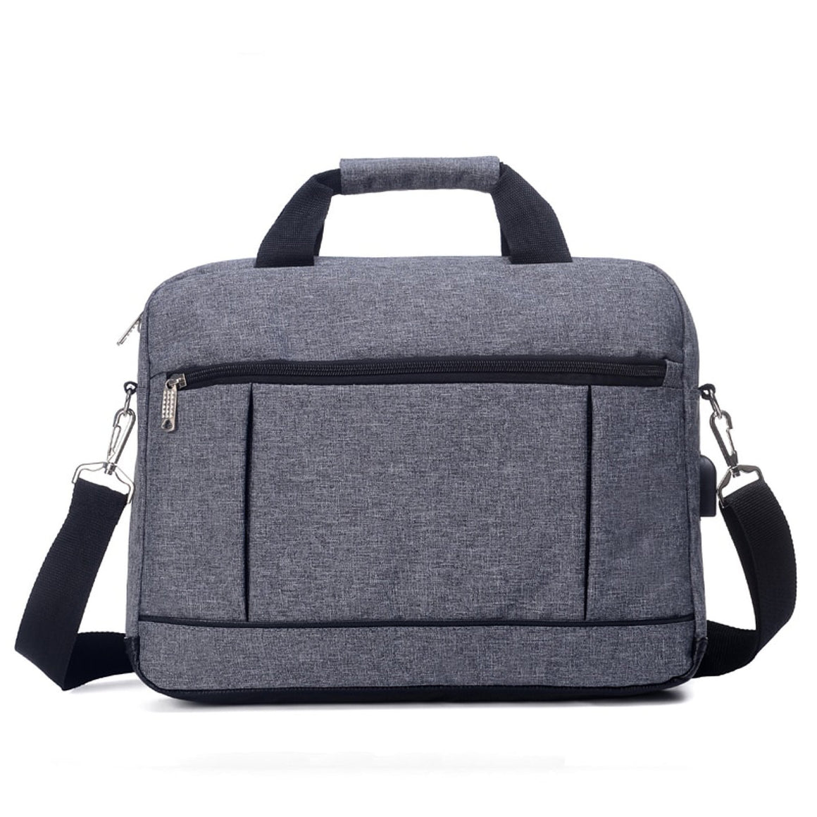 AUTEUIL Men's Briefcase USB Laptop Bag Male Simple Protfolio Office Business Handbag Maletin Hombre EH1512 bolsa masculina Sale