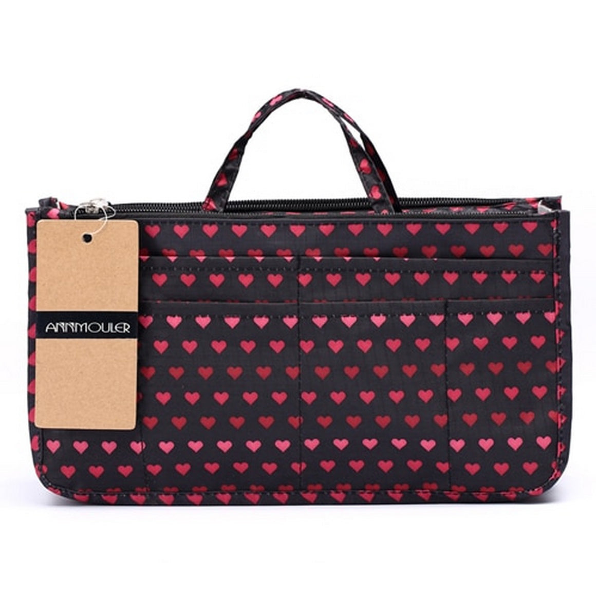 Annmouler Makeup Bag Necessarie Organizer 10 Colors Trip Beauty Women Travel Handbags Toiletry Bag Waterproof Make Up Pouch