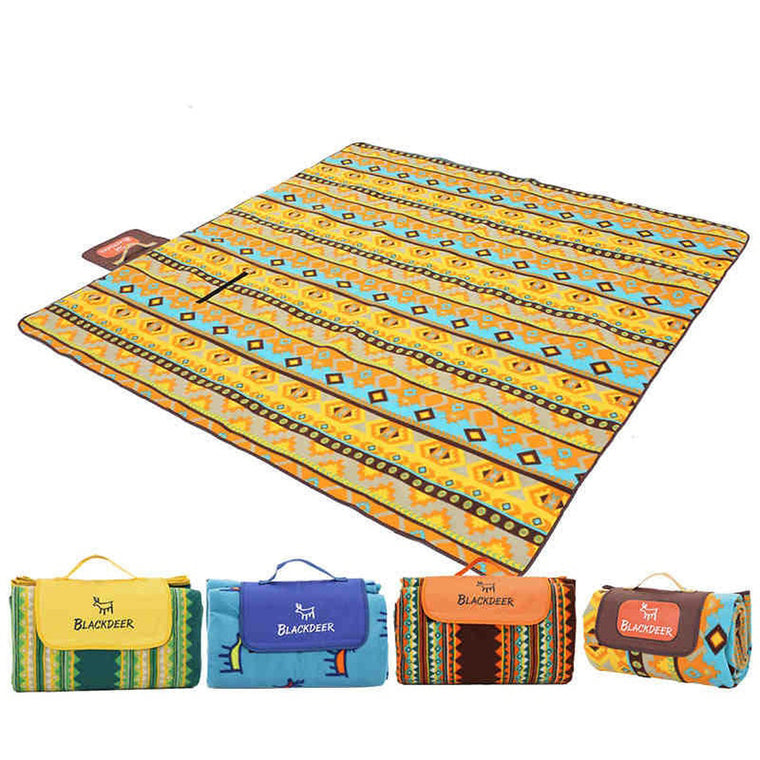 New Fashion Double Sided Foldable Waterproof Aluminum Foil Mat Outdoor Travel Beach Mat Sleeping Mattress For Camping Hiking Workplace Safety Supplies